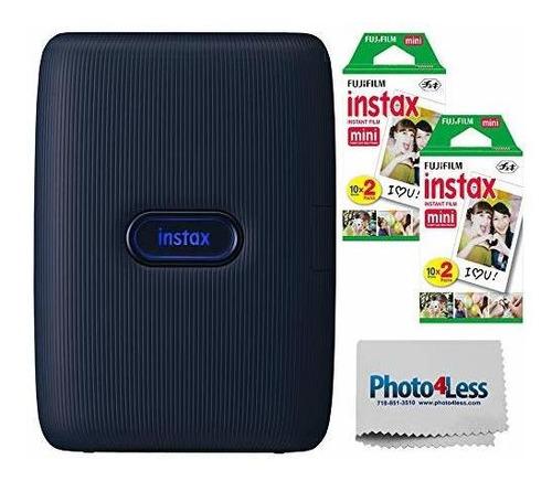 Imagen 1 de 5 de Fujifilm Instax Mini Link - Impresora Para Smartphone (denim
