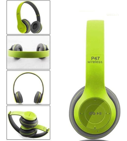 Fone Sem Fio Bluetooth Goldenultra C/ Microfone Fm Mp3 Usb