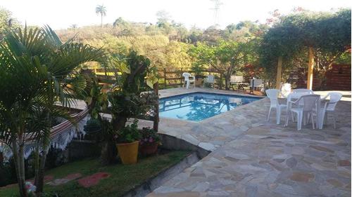 Imagem 1 de 14 de Chácara No Parque Do Sol Em Amparo/sp