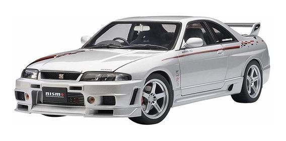Auto Art 118 Nissan Skyline Gt-r R Tune R33 Silver Stripes ®