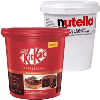 Nutella 3kg Ou Kitkat 2,1kg A Escolha É Sua.