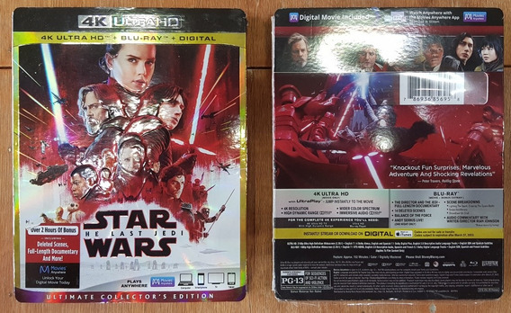 Star Wars The Last Jedi 4k Bluray