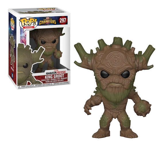 Figura Coleccionable Pop Games Marvel Coc King Groot Funko