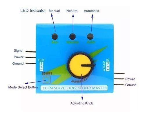 Servo Tester / Probador De Servos Y Esc / Generador Pwm