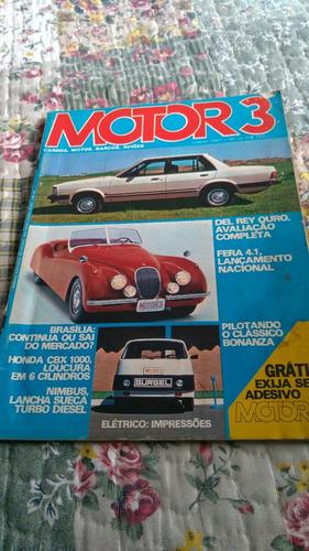 Antiga Revista Motor 3