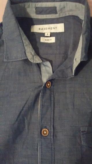 Aprovecha Esta Oferta Camisa Basement Talla S Color Azul