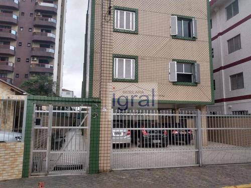 Imagem 1 de 7 de Apartamento Com 1 Dormitório, 40 M² - Venda Por R$ 145.000,00 Ou Aluguel Por R$ 1.000,00/mês - Boqueirão - Praia Grande/sp - Ap0978