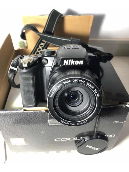 Camera Coolpix P500 Nikon - Excelente Estado
