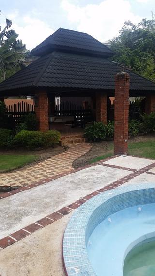 Jarabacoa Villa 1148m2 700m2 De Const Jacuzzi Gazebo $11m