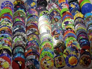 100 Tazos Spiderman Dragonballs Funky Otro Azar Envío Gratis