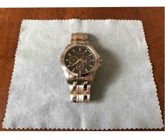 Relógio Masculino Bulova, 96c107, Casual