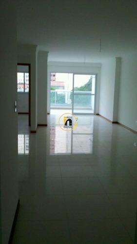 Apartamento Com 3 Quartos Para Comprar No Praia Da Costa Em Vila Velha/es - Nva889