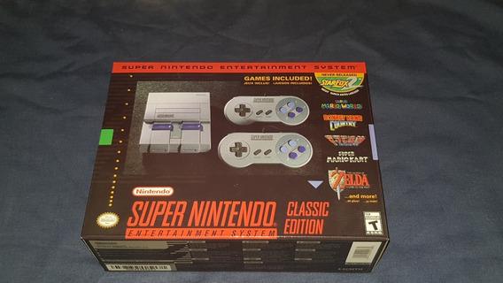 Super Nes Nintendo Mini (classic Edition) - Novo