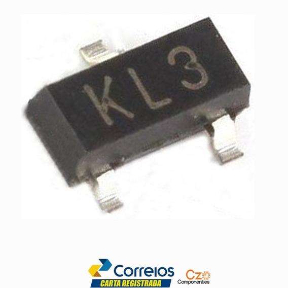 10 Pçs Diodo Kl3 Bat54c Schottky Sot23 Smd = Ww1 Lp43