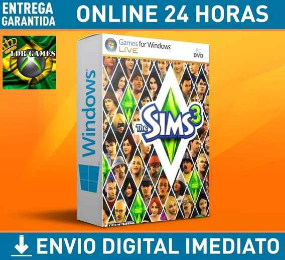 The Sims 3 Para Computador Pc Mídia Digital + Brinde