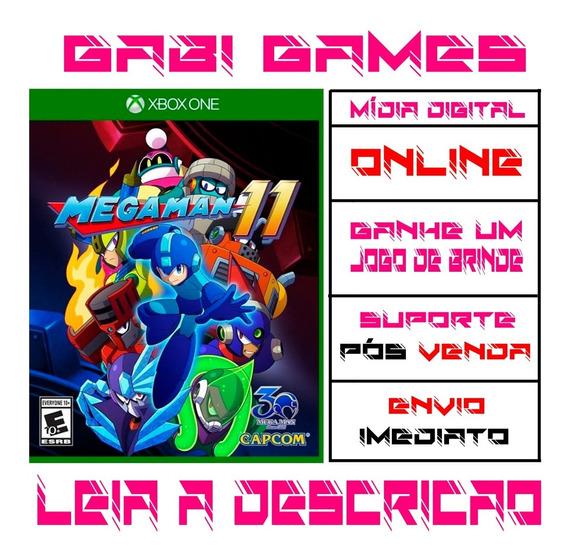Mega Man 11 - Xbox One Digital Online + Brinde