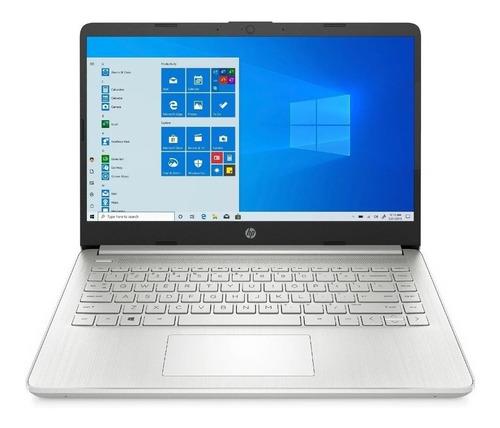 """Imagen 1 de 2 de Notebook HP 14-DQ1059WM natural silver 14"""", Intel Core i5 1035G1  8GB de RAM 256GB SSD, Intel UHD Graphics 1366x768px Windows 10 Home"""