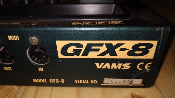 Pedaleira Para Guitarra - Zoom Gfx-8