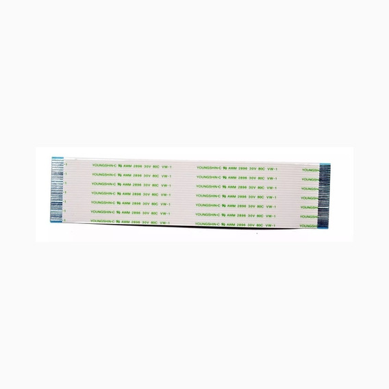 Flat Cable 12cm 27 Vias 1mm - Kit 2 Pçs