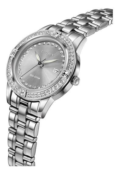 Reloj Citizen Fe1150-58h Plateado Dama