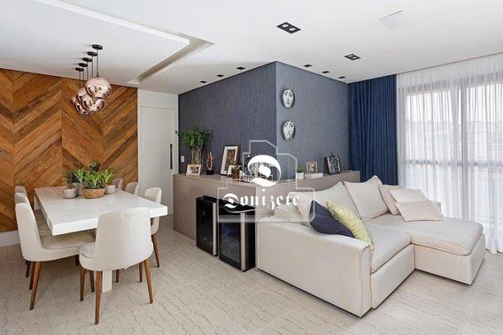 Apartamento Com 3 Dormitórios À Venda, 86 M² Por R$ 479.000,00 - Vila Assunção - Santo André/sp - Ap13664