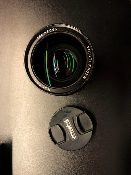 Lente Voigtlander Nokton 25mm F/0.95 Mft Micro Four Thirds