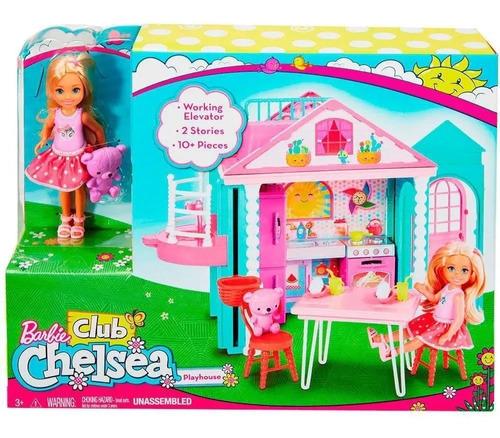 Barbie Club Chelsea Casa Con Accesorios Mattel
