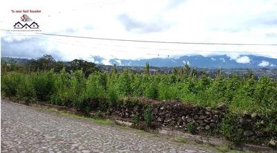 Terreno Ideal Para Casa Campestre 3.000 Mts2 Ibarra Ecuador
