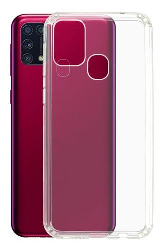 Imagen 1 de 4 de Funda Protector Transparente De Acrigel Para Samsung M31
