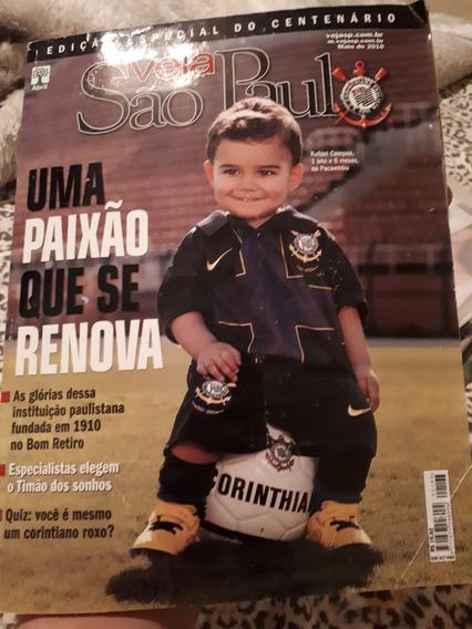 Revista Veja Sp - Edição Especial - Centenário Corinthians