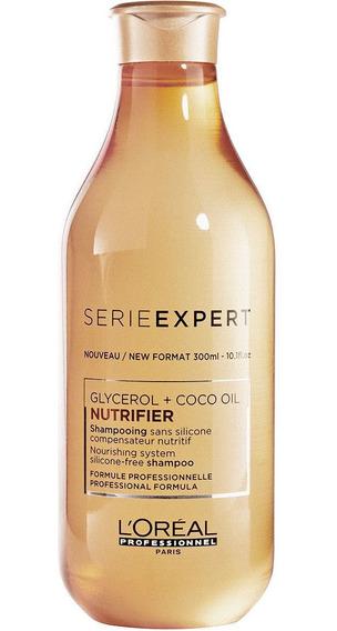 Shampoo Nutrifier Nutrición 300 Ml Loreal Pro