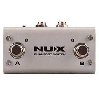 Nux Nmp-2 Dual Footswitch For Keyboard, Modules And Effect P