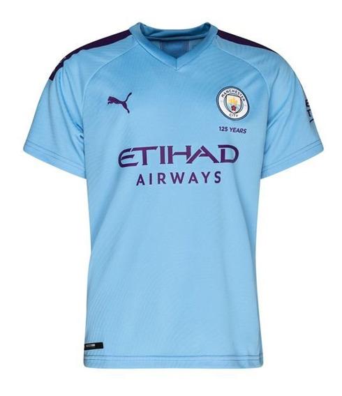 Camiseta De Futbol Puma Manchester City Home Hombre Ce/vi