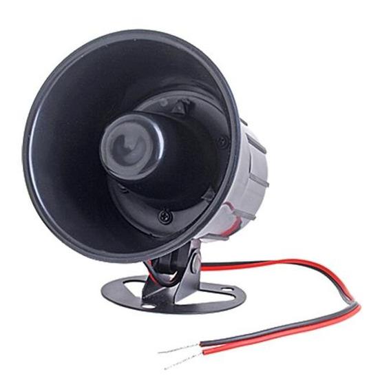Sirene Corneta Especial 12 Volts Alarmes E Cerca Elétrica