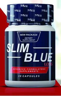 Slim Blue Loss 1 Unidade 30 Capsulas