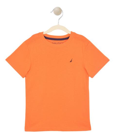 T-shirt-nautica-52b01ei-naranja-niño