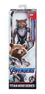 Avengers Endgame Rocket Orig Hasbro Titan Hero