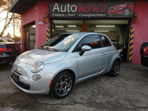 Imagen 1 de 14 de Fiat 500 2012 1.4 Cult Muy Bueno Tomo Auto Fcio X Bco