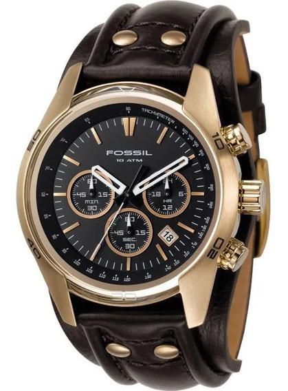Relógio Fossil - Ch2615 - Dourado