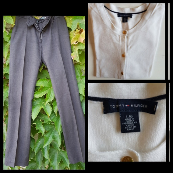 Outfit : Cardigan Tommy Hilfiger + Pantalon ( Italy) Divino