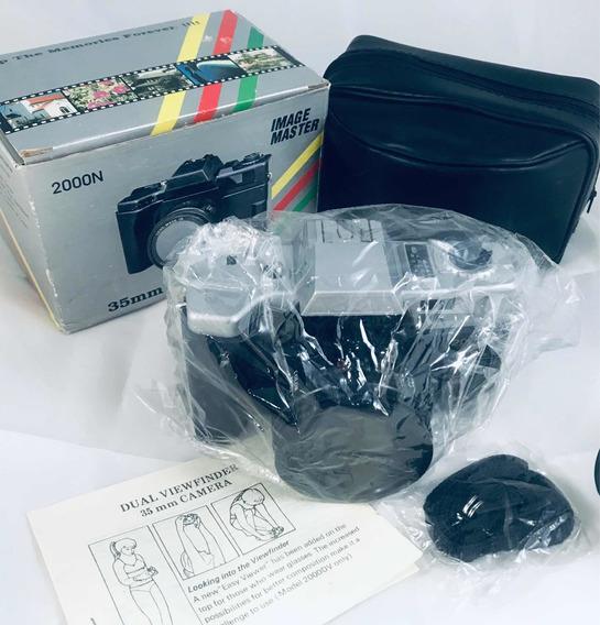 Máquina Fotográfica Câmera Antiga Imagem Master 2000n