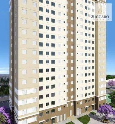 Apartamento Com 3 Dormitórios À Venda, 54 M² Por R$ 280.000 - Ponte Grande - Guarulhos/sp - Ap13502