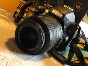 Baixou!!! Câmera Dslr Nikon D-5100 Super Nova + Case Logic