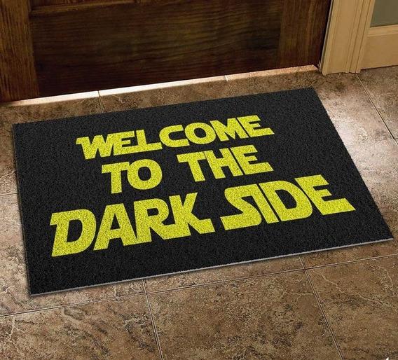 Tapete Capacho Em Vinil - Star Wars Welcome To The Dark Side