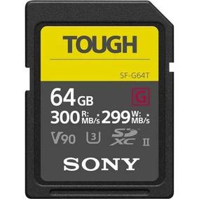 Cartão Sdxc Sony 64gb Sf-g Tough Serie G Uhs-ii 300 Mb/s Son