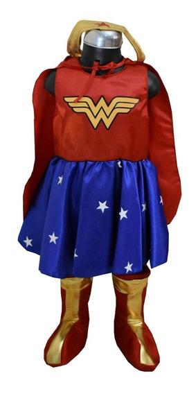 Disfraz Para Niña Mujer Maravilla