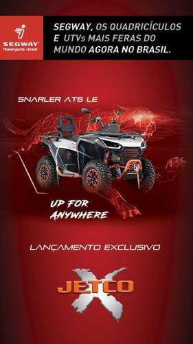 Imagem 1 de 10 de Segway Quadriciclo Snarler 570 Cforce 520 Eps Automatico Atv