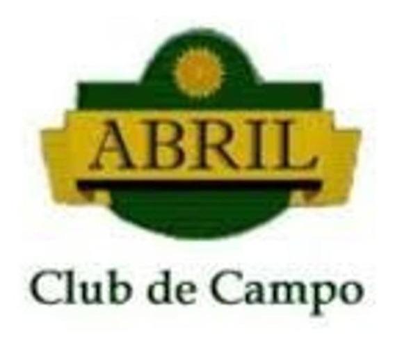 Lote En Venta En Barrio Club De Campo Abril- Sector La Reja