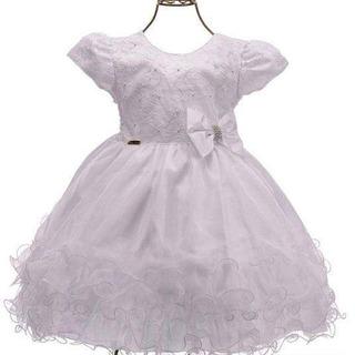 Vestido De Luxo Para Dama Ou Batizado