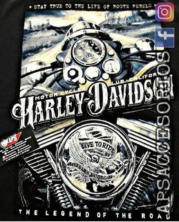 Remera Harley Davidson En Aps Accesorios